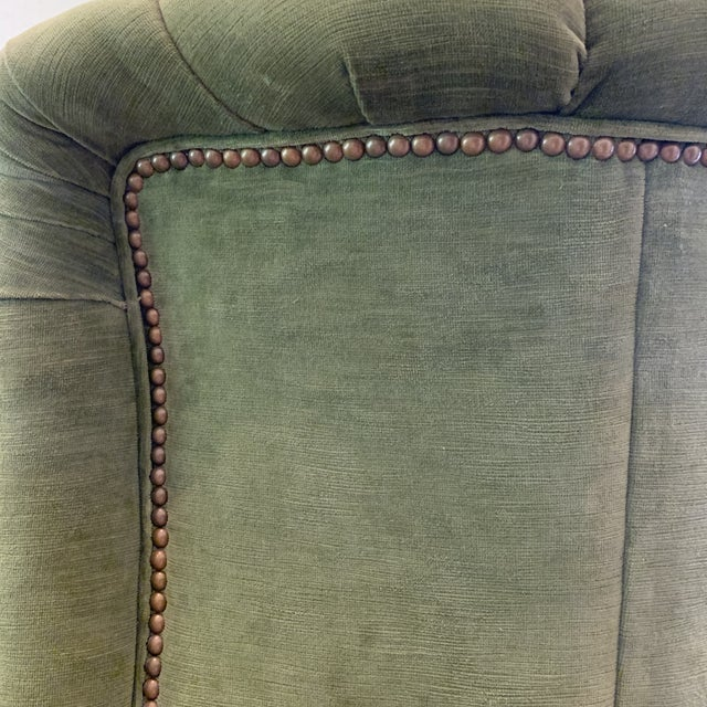 Century Furniture Artesia Wingback Chairs- A Pair For Sale In Cleveland - Image 6 of 13