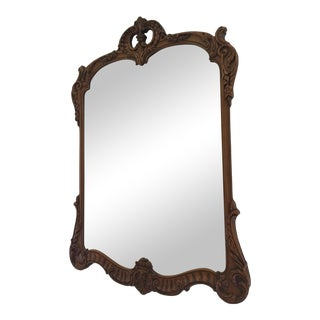 20th Century Antique Rococo Style J. B. Van Sciver Gilt Framed Wall Mirror For Sale