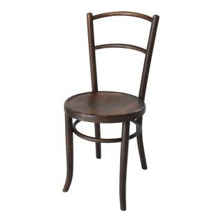 Antique European Bent-Wood Chair For Sale
