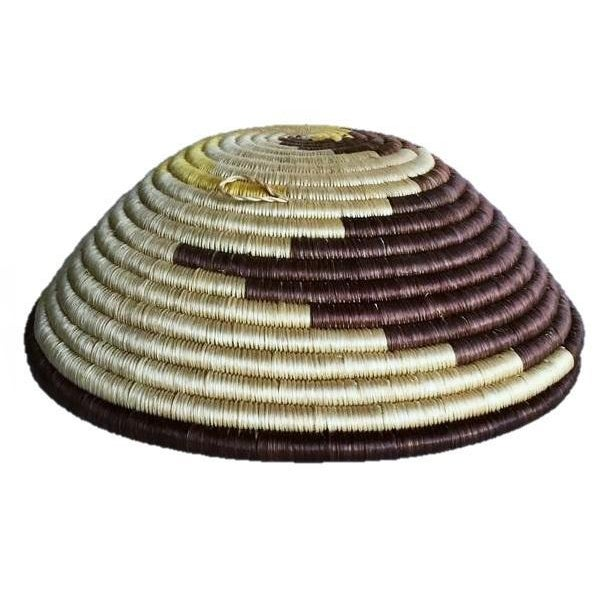 African Boho Woven Basket - Image 3 of 6