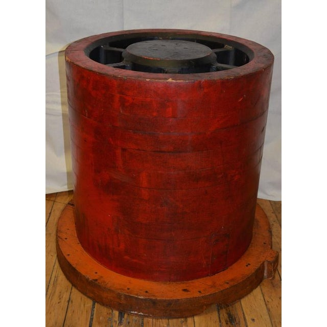 Industrial End Table For Sale - Image 4 of 10
