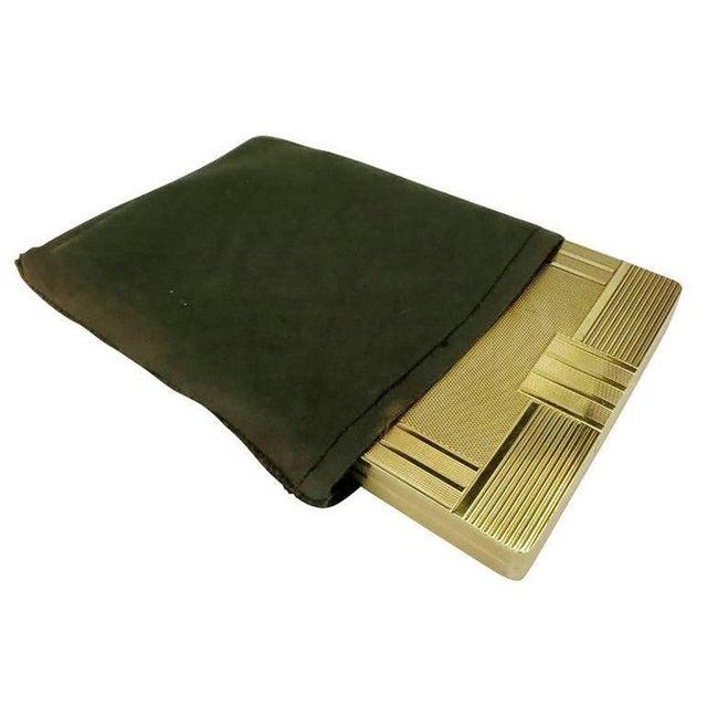 18-Karat Gold Art Deco Cigarette Case For Sale - Image 9 of 10
