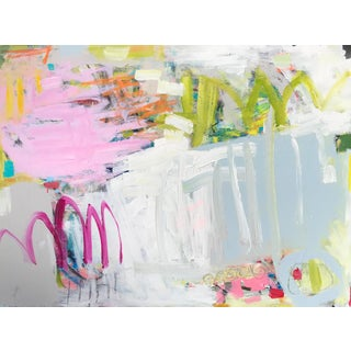 """Sarah Trundle, """"Paris (In the Springtime)"""", Contemporary Abstract Painting For Sale"""