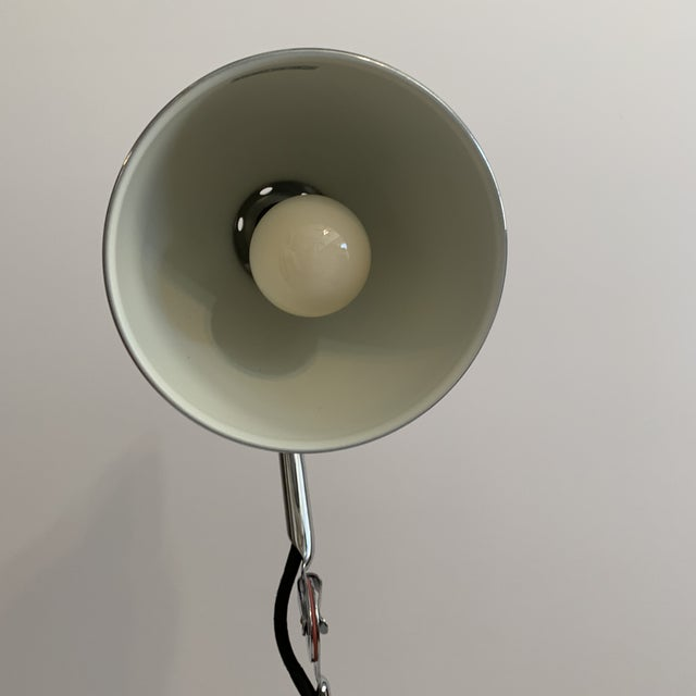 Contemporary Lampe Gras 205 Table Lamp Chrome by DCW Editions Paris For Sale - Image 3 of 7