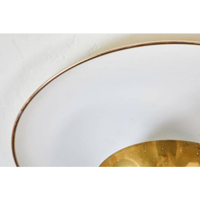 1950s Gino Sarfatti Ceiling Lamp Model #155 for Arteluce For Sale - Image 10 of 11