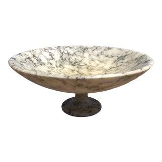Vintage JIM Tirrenia Italy Marble Bowl For Sale