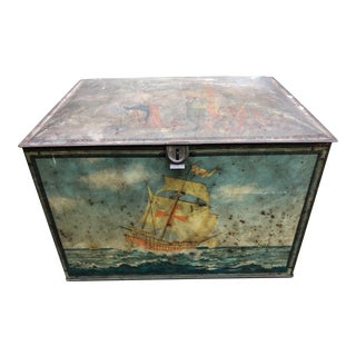 Vintage Nautical Tin Box