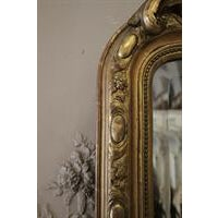 Louis XV Early 20th Century Carved French Louis XV Style Giltwood Mirror For Sale - Image 3 of 5
