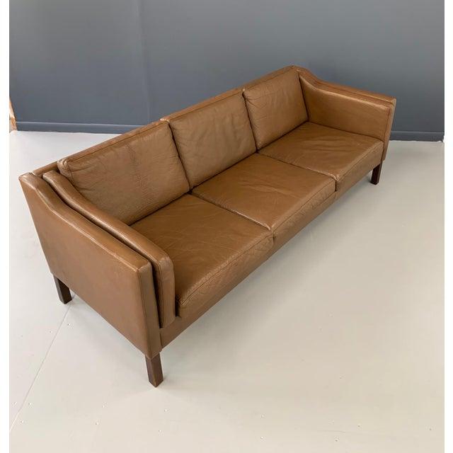 Børge Mogensen Børge Mogensen Model 2213 Three-Seat Sofa For Sale - Image 4 of 7