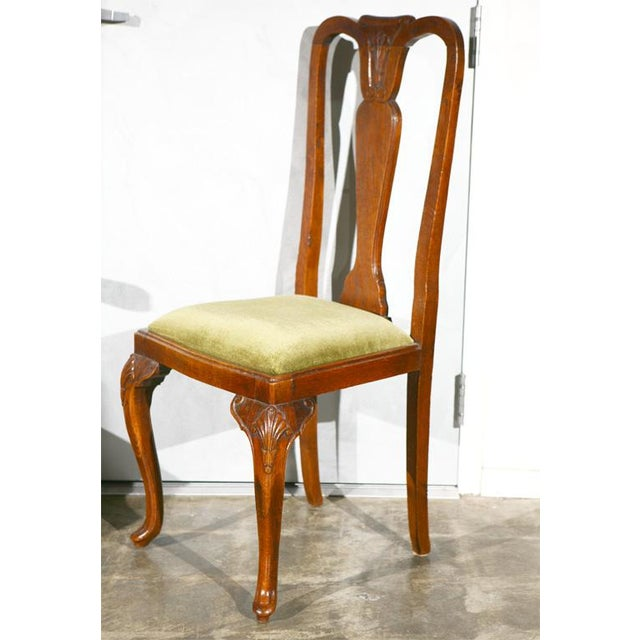 Queen Ann Style Chairs - Set of 6 - Image 9 of 9