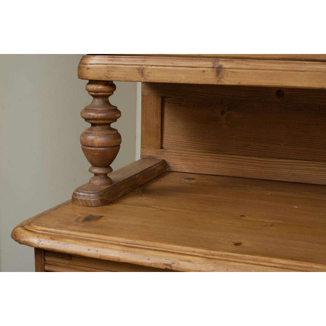 Baroque Style Pine Buffet For Sale - Image 4 of 7
