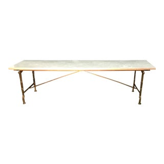 Vintage Hollywood Regency Coffee Table For Sale