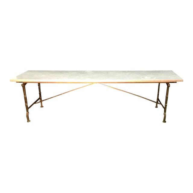 Vintage Hollywood Regency Coffee Table For Sale