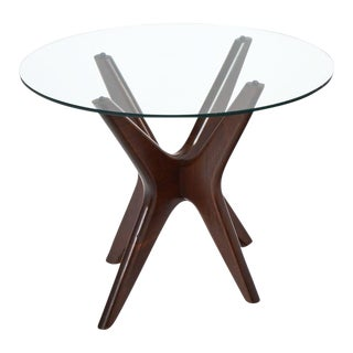 Mid-Century Modern Asymmetrical Rosewood Side Table For Sale