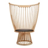 Image of Tom Dixon Fan Chair in Natural For Sale