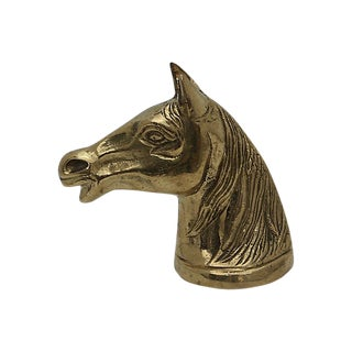Brass Horse Head Bottle Opener For Sale