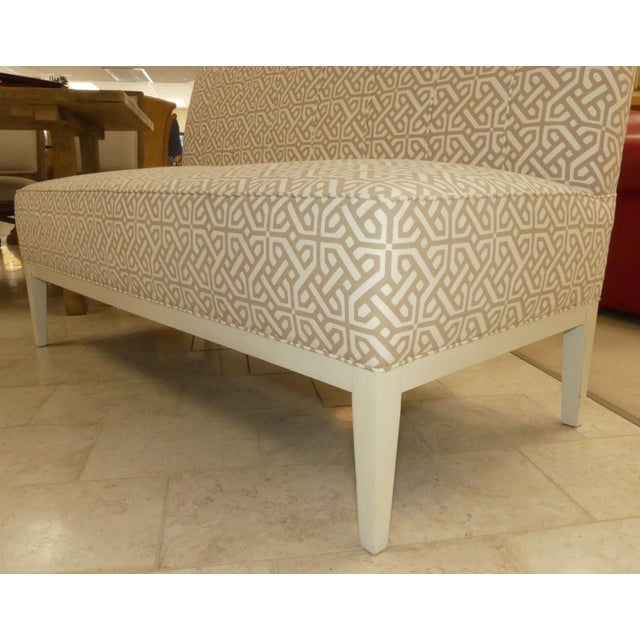 Hickory Chair Upholstered Dining Bench . Banquette . Settee . Loveseat For Sale In Miami - Image 6 of 11