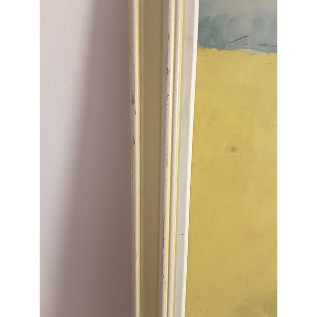 Vintage Mid-Century Artwork Framed Print of Watercolor Painting Signed Alexander Ross For Sale In Los Angeles - Image 6 of 13