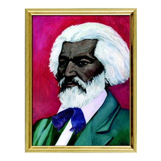 Frederick Douglass Art Print - Framed For Sale