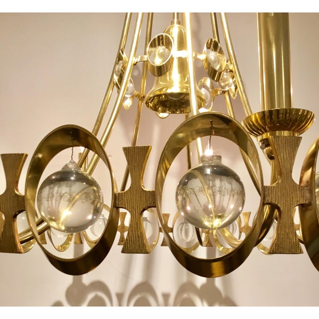 Modern Global Views Modern Jewel Tangle Chandelier For Sale - Image 3 of 7