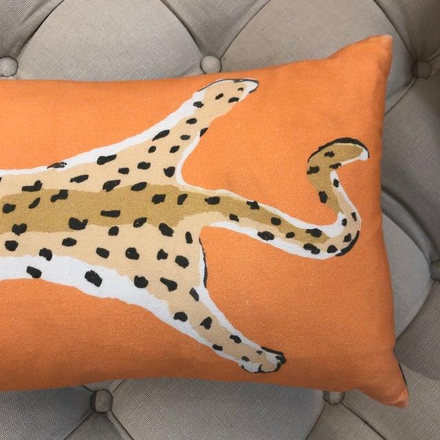 Dana Gibson Leopard Lumbar Pillow by Dana Gibson For Sale - Image 4 of 13