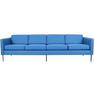 Mid Century Modern Chrome Sofa