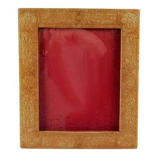 Embossed Velvet Picture Frame For Sale
