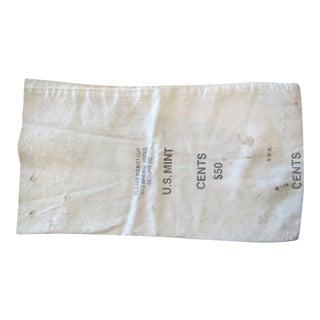 "Vintage 1960's ""$50 US Mint"" Coin Bag For Sale"