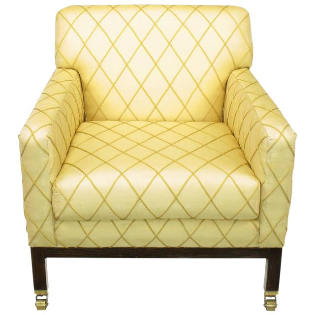 Edward Wormley for Dunbar Rolled Back Club Chair For Sale