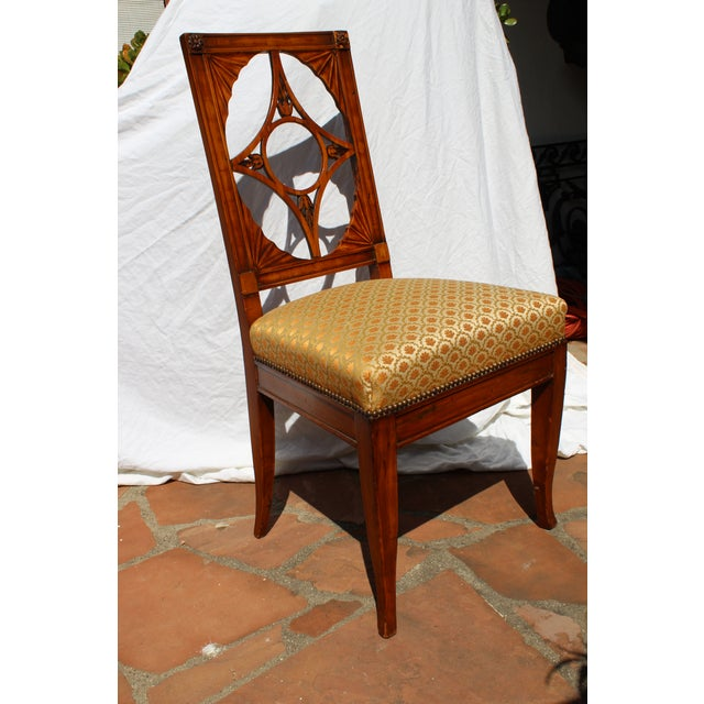 Russian Neoclassical Side Chair For Sale - Image 4 of 7