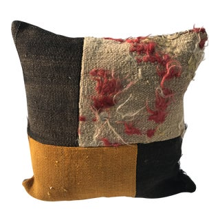 Multicolor Turkish Kilim Pillow Cover For Sale