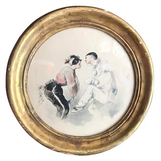 """""""Dancers"""" Gilt Frame Print For Sale"""