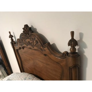 1960s French Provincial Twin Karges Walnut Carved Headboards - a Pair Preview
