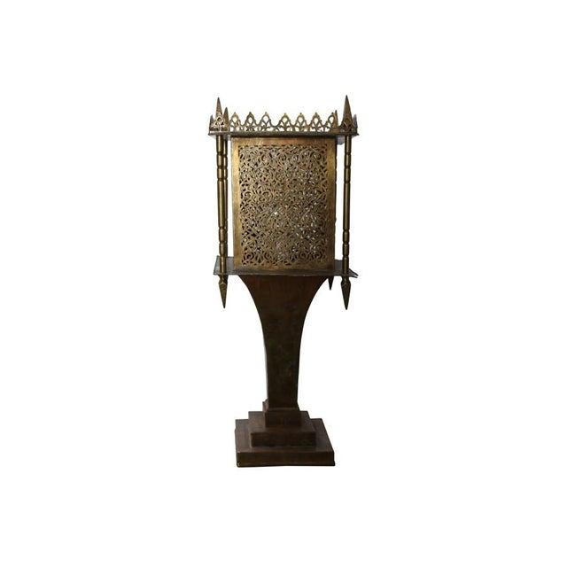Brass Moroccan Style Lantern - Image 2 of 4