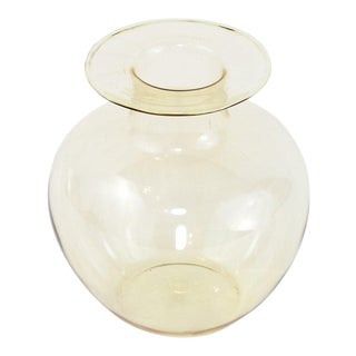Small Smoke Mid-Century Modern Lauscha Vase For Sale