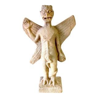Art Deco Resin Material Demon Statue