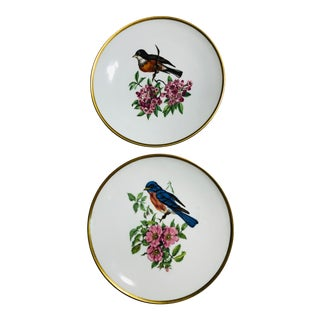 Schumann Arzberg Germany Bird Plates - a Pair For Sale