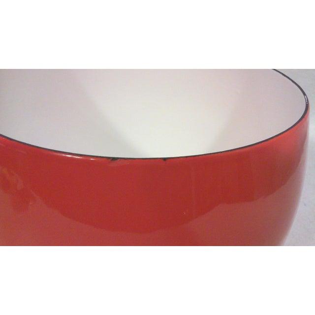 Dansk IHQ Red Enamel Bowl - Image 4 of 7