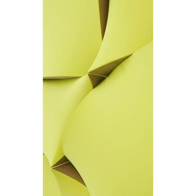 "Acrylic Jan Maarten Voskuil ""Non-Fit Broken Light Yellow"" Acrylics on Linen, 2017 For Sale - Image 7 of 10"