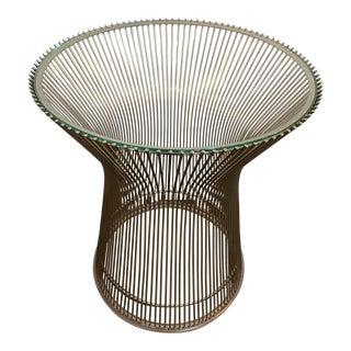 Warren Platner for Knoll Side Table For Sale