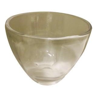 1960s Orrefors Art Glass Bowl by Ingeborg Lundin For Sale