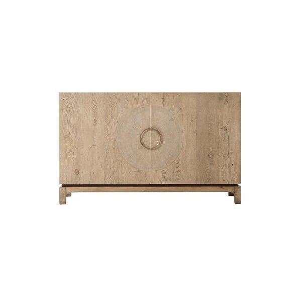Mid-Century Modern Mid Century Oak Cabinet For Sale - Image 3 of 6