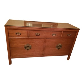 Vintage Mid-Century Lovely Mahogany Credenza by Century Furniture For Sale