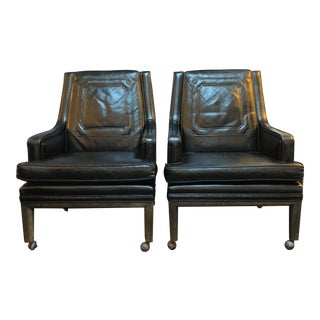 Monteverdi Young Mid-Century Modern Chairs - A Pair