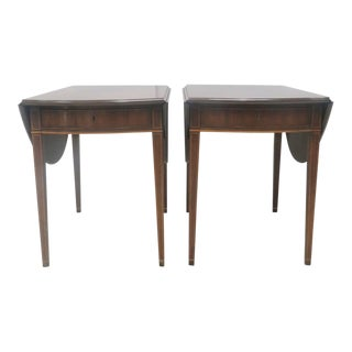 Colonial Williamsburg Kittinger Pembroke Tables - A Pair