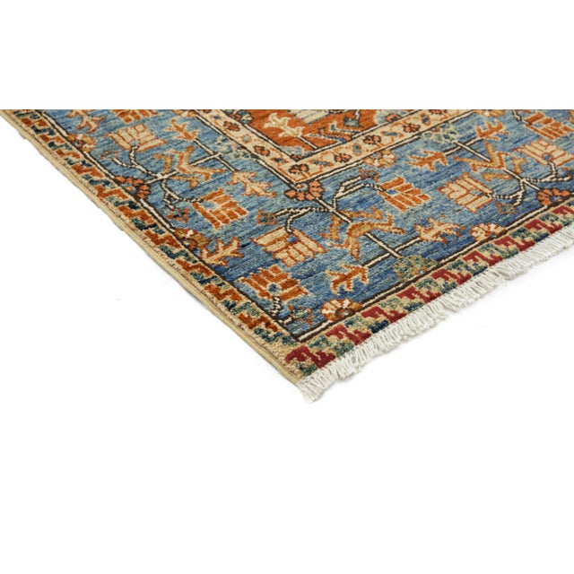 """New Serapi Hand Knotted Runner - 2'9"""" x 9'9"""" - Image 2 of 3"""