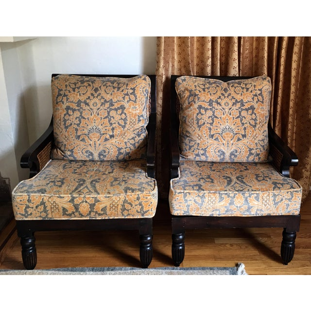 Pair of Ralph Lauren Home Arm Chairs - Image 2 of 5