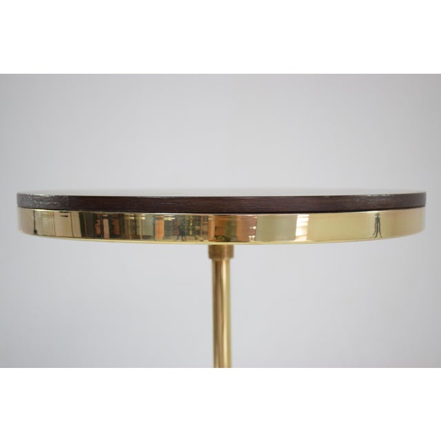 Unio Contemporary Brass Charging Table, Flow Collection For Sale - Image 9 of 12