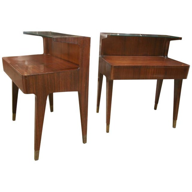 Italian Gio Ponti Nightstands, 1958 For Sale - Image 3 of 3