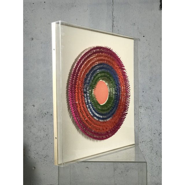 Abstract Large Modernist Paper Sculpture by Irving Harper For Sale - Image 3 of 12